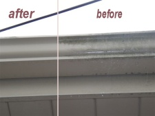 indianapolis power washing gutters