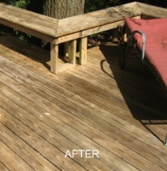power washing deck indianapolis